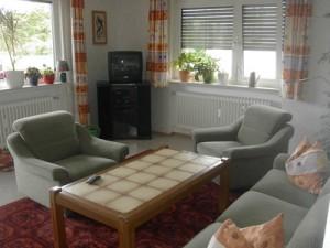 Wohnzimmer Ferienwohnung Schellhaas